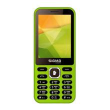 SIGMA MOBILE-X-Style 31 Power Green მობილური ტელეფონი