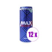 1 შეკვრა 12 ცალი ენერგეტიკული სასმელი Maxx Power 0.330 ლ