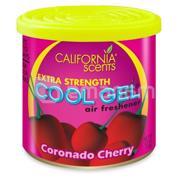 California Scents არომატიზატორი California Scents Cool Gel CG4-007 ალუბალი კორონადო 126 გ