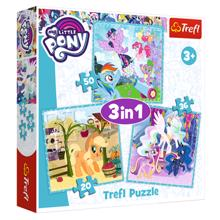 """TREFL """"3 in 1"""" - My Little Pony ფაზლი"""