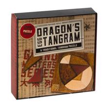 PROFESSOR PUZZLE Dragon`s Egg Tangram თავსატეხი