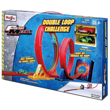 Maisto 12363 Double Loop Challenge სათამაშო ნაკრები ტრასა