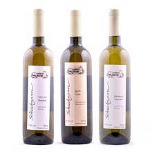 ღვინის ბიბლიოთეკა თეთრი ღვინის ნაკრები (მშრალი და ნახევრად ტკბილი)