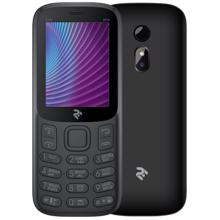 2E Mobile phone E240 2019 Dual SIM Black