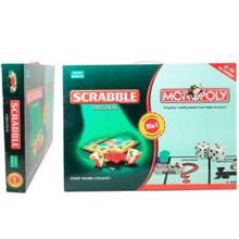monopoly & scrabble სამაგიდო თამაში
