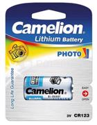 Camelion  ელემენტი Camelion CR123-BP1R Lithium CR123 3V 1 ც