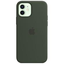 Apple iPhone 12/12 Pro Silicone Case with MagSafe Cypress Green მობილურის ქეისი