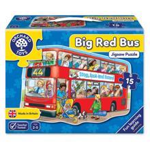 juniori Puzzle ფაზლი ორ სართულიანი ავტობუსი 15 ნაწილიანი