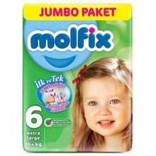 Molfix ბავშვის საფენი N6