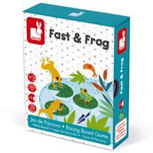 Janod Fast & Frog სამაგიდო თამაში