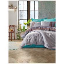 Cozy Home ორსაწოლიანი რენფორსის თეთრეულის კომპლექტი Folk Art Grey