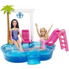 MATTEL Barbie გლამურული აუზი
