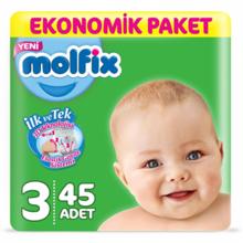 Molfix ბავშვის საფენი N3 #45