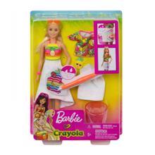 MATTEL Barbie გასაფერადებელი ანანასის არომატით