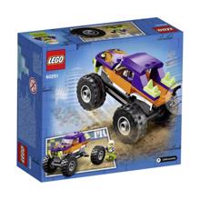 LEGO CITY-მონსტრი მანქანა