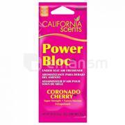 California Scents არომატიზატორი California Scents Power Bloc PB-007 ალუბალი კორონადო