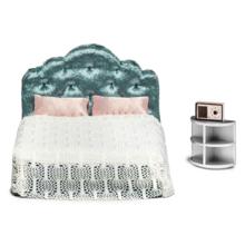 lundby სათამაშო საძინებელი ოთახის კომპლექტი