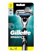 დანადგარი Gillette Mach3 2 პირით