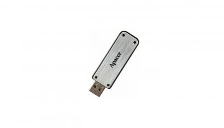 BD Comp USB ფლეშ მეხსიერება APACER AH328 16GB USB2.0 (AP16GAH328S-1) Silver