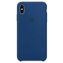 Apple Silicone Case for iPhone XS Max Blue Horizon ქეისი