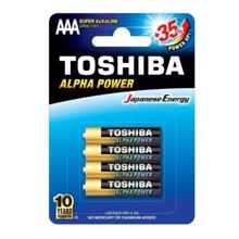 TOSHIBA ელემენტების 4 ცალიანი შეკვრა LR03GCH AAA