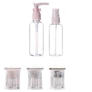 სამგზავრო ბოთლების ნაკრები/travel bottle set (2 pcs)