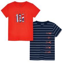 Mayoral Mini Boy Set of 2 t-shirts skate