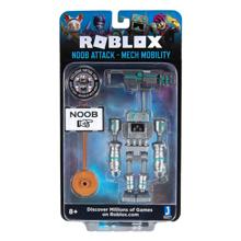 Jazwares Roblox Imagination Figure Pack Noob Attack Mech Mobility W7 სათამაშო ფიგურა