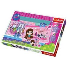 TREFL Puzzles 50/50 Lumi Color Pet Shop ფაზლი