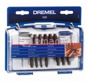 Dremel ნაკრები საცმების მულტიინსტრუმენტისთვის Dremel 688 26150688JA 69 ც