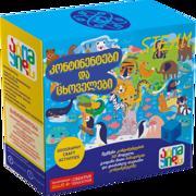 Atom Kids კონტინეტები და ცხოველები (Continents and Animals) - ექსპერიმენტი