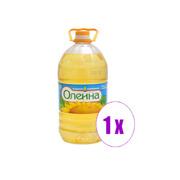 1 ბოთლი მზესუმზირის ზეთი Олеина 3 ლ.