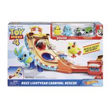 MATTEL Hot Wheels Toy Story Carnival Track Set  სათამაშო ტრასა