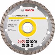 BOSCH ალმასის დისკი უნივერსალური Bosch Eco for Universal Turbo 125x22.23 მმ