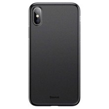Baseus WIAPIPH65-E01 for iphone X Black ქეისი