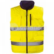Coverguard ჟილეტი ორმხრივი დათბილული Coverguard HI-WAY 7HWGYL L ყვითელი
