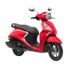 Yamaha Fascino Red სკუტერი
