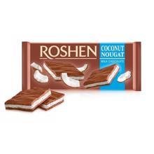 Roshen შოკოლადის ფილა ქოქოსის ნუგა 90 გრ