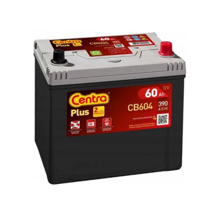 Centra აკუმულატორი Centra PLUS CB604 60 A/h JIS