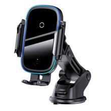 Light Electric Car Holder ტელეფონის დამჭერი და უსადენო დამტენი