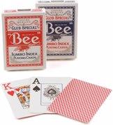 BEE Playing Cards Bee Jumbo Index - ბანქოს დასტა