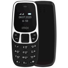 """Inoi 102 0.66"""" Dual Sim Black მობილური ტელეფონი"""
