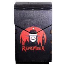 Tibox • ტიბოქს ხის ყუთი V for Vendetta
