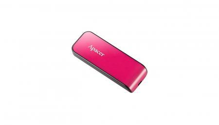 BD Comp USB ფლეშ მეხსიერება APACER AH334 64GB USB2.0 (AP64GAH334P-1) Pink
