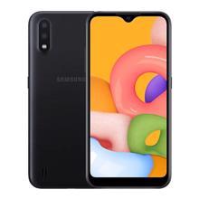 Samsung Galaxy A01 16GB Black მობილური ტელეფონი