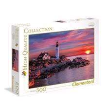 CLEMENTONI ფაზლი  მზის ჩასვლა სანაპიროზე