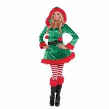 Sassy Elf ელფის კოსტუმი ქალბატონებისთვის ზომა L