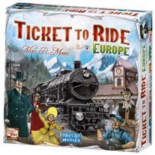 Film House Ticket to ride (europe ხის ფიგურებით)