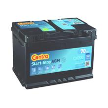 Centra აკუმულატორი Centra Start-stop AGM CK700 70 A/h DIN