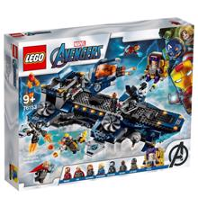 lego SUPER HEROES შურისმაძიებლების ლურჯი ხომალდი